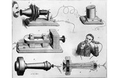 Alaxander Grahm Bell's latest invention The Telephone