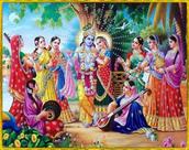 The many wives of Krishna
