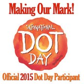 Dot Day is an optional project you could do with your students