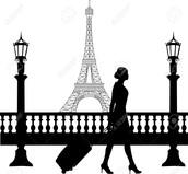 Femme voyagent