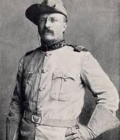 Teddy Roosevelt in his Rough Riders Uniform