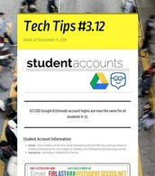 Student Accounts - Google & Edmodo