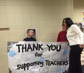 RR Kids' Co. helps to welcome Commissioner of Education Dr. Brenda Cassellius