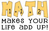 Math Update