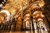 Inside Mezquita de Cordoba