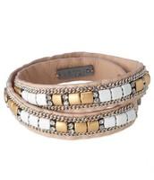 Cady Wrap Bracelet - White