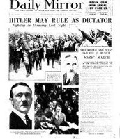 The Rise of Hitler and the Treaty of Versailles