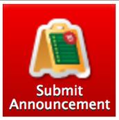 Announcements Links