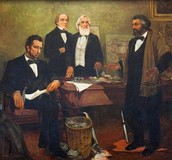 President Lincoln and Frederick Douglass