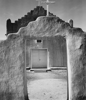 Church, Taos Pueblo (1942)