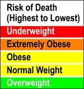 Risk Of Dealth chart