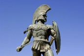 This is a picture of King Leonidas.