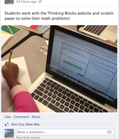 Miss Clark's Thinking Blocks