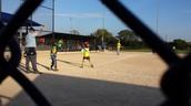 ....She Plays Softball...