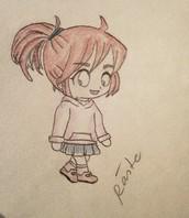 Chibi girl ^o,o^