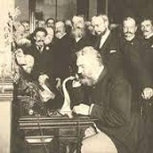 Telephone when it first was invented.