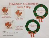November / December Book and Bag!