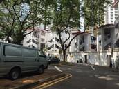 older housing estate