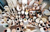 What are ceramics made of