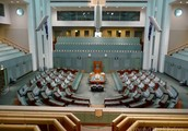A tour from the inside of Parliament House Canberra.