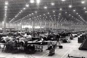 Factories during the war