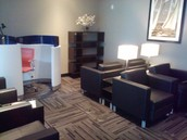 NEW BUSINESS LOUNGE AREA