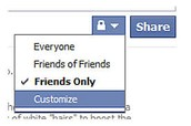 Know your privacy settings and be careful who you friend