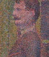 La Parade. Georges Seurat