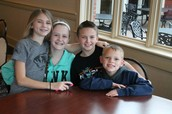 Emmy, Sophie, Kyle, and Reed
