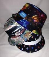 Sombreros del cubo