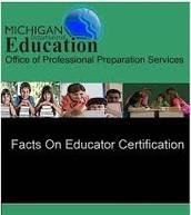 Understanding Michigan Provisional & Professional Educator Certifications