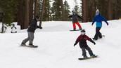 (Día Uno) Hacer Snowboard