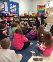 Interactive Read Aloud in Mrs. Arpide's Second Grade