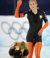Annette Gerritsen Olympic Speed Skater from the Netherlands