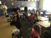 Community Helpers...Our Police Visit 1st Grade