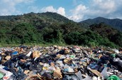 Open dump in South America