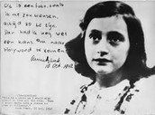 Courage is an important theme in the story of Anne Frank