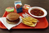 All public schools should require healthy lunches, including all snack and desert options.
