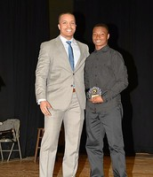 Mr. Fisher and Tyrese Jackson