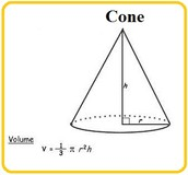 Other Formula for Finding Volume of a Cone