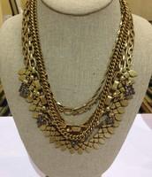 SUTTON NECKLACE -gold