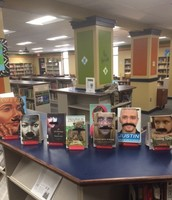 1.  Check out a book with a mustache!