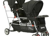 Joovy Black Big Caboose Stand On Triple Stroller - $185 obo