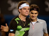 Roger and Raonic