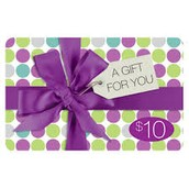 The student who sells the most calendars will earn a $10 gift card!
