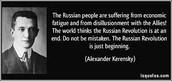 Kerensky Revolution