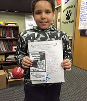 Willie received a Positive Principal Phone Call home this week!