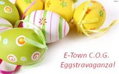 E-town C.O.G. Annual Easter Eggstravaganza April 3 5-7 PM