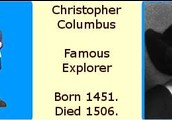 Columbus's Birth and Death Information