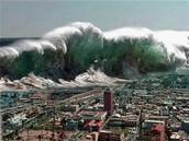 Tsunami Over Japan